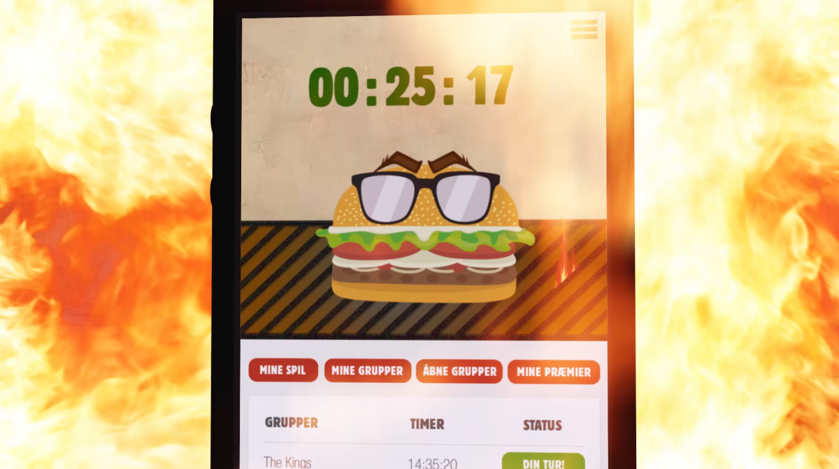 reklamefilm produceret for Burger King