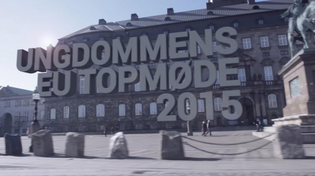 En filmproduktion om Ungdommens eu topmøde lavet af Nerd Productions for Europaparlamentet