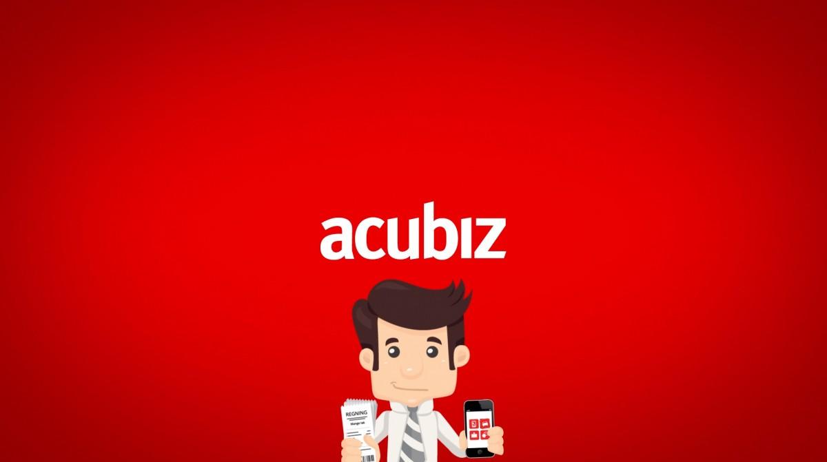 Acubiz rejseafregning med mobilen - animationsfilm af Nerd Productions