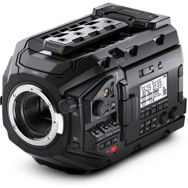 Lej Blackmagic Ursa Mini Pro 4,6 EF - udlejning af filmudstyr